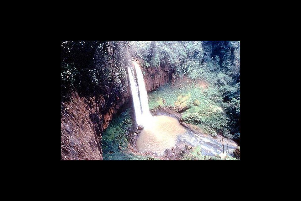 Le mont Cameroun , Cameroun