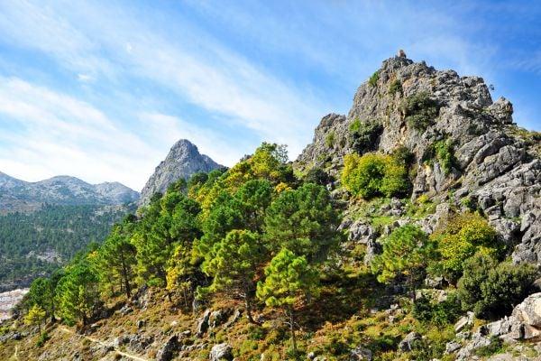 Sierra de Grazalema, Die Landschaften, Huelva, Andalusien