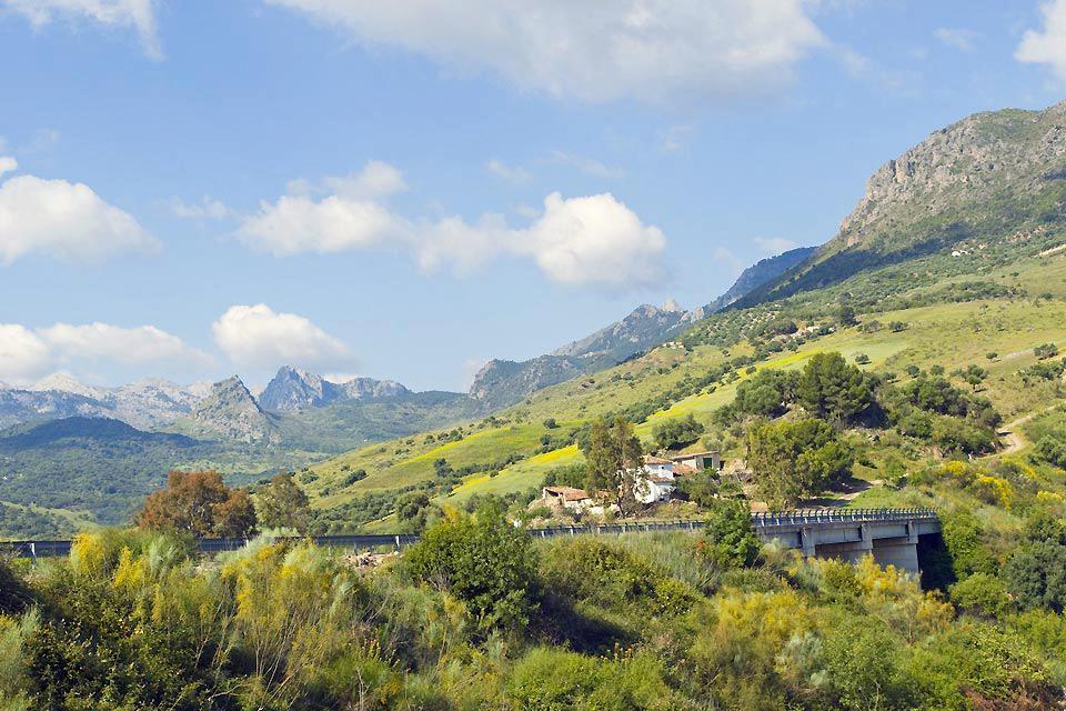 Sierra de Grazalema , Paisaje de la Sierra de Grazalema , España