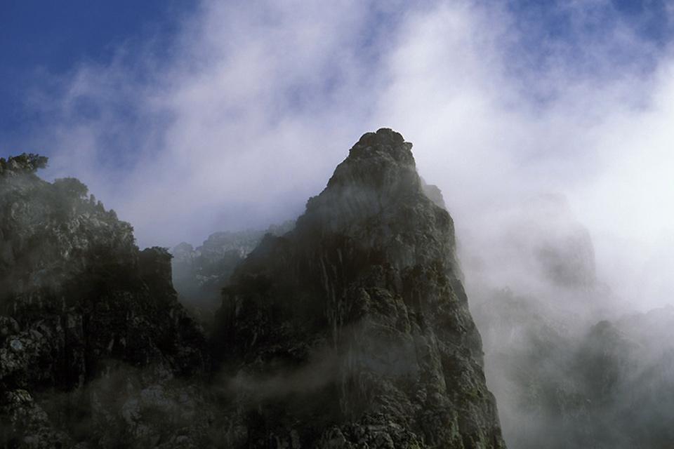Sierra de Grazalema , Entre las nubes, la Sierra de Grazalema , España