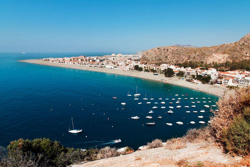 , Costa de Almería, Las costas, Andalucía