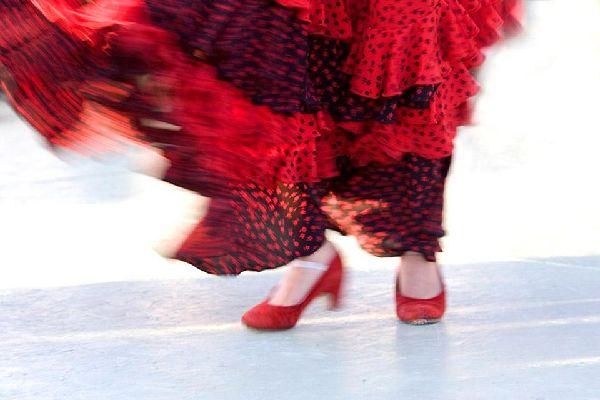 Le flamenco , Un festival de couleurs , Espagne