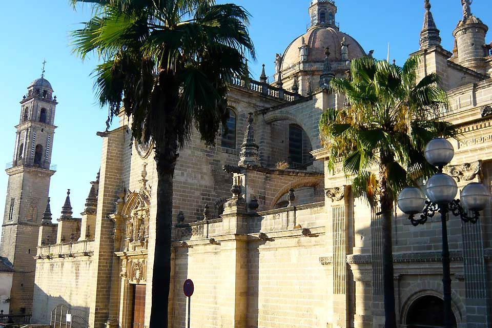 L'Alcazar de Jerez , La cathédrale de Jerez , Espagne