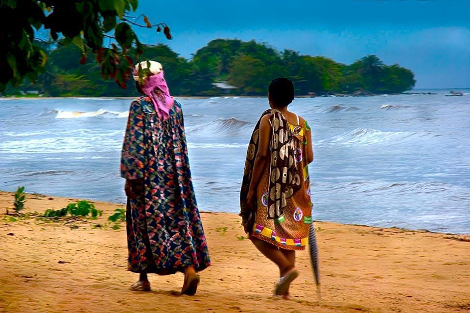 Les villages côtiers , Cameroun