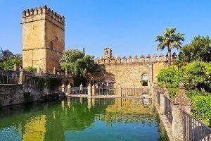L'Alcazar di Cordova , Spagna