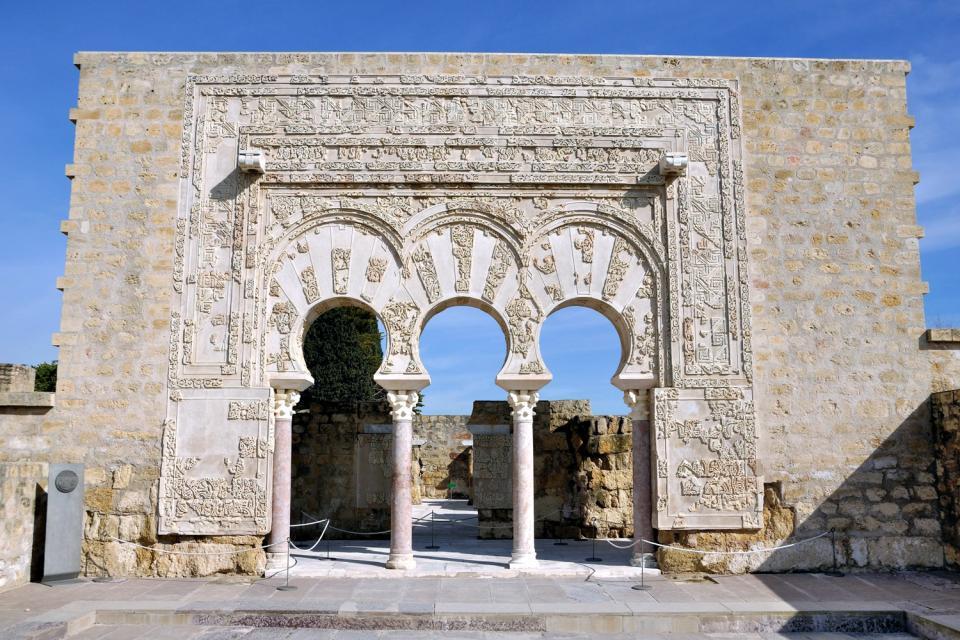 Il sito archeologico di Madinat Azahara , Spagna