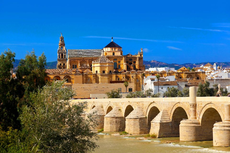 Cordoba Cathedral , View of the inside of Cordoba Cathedral , Spain
