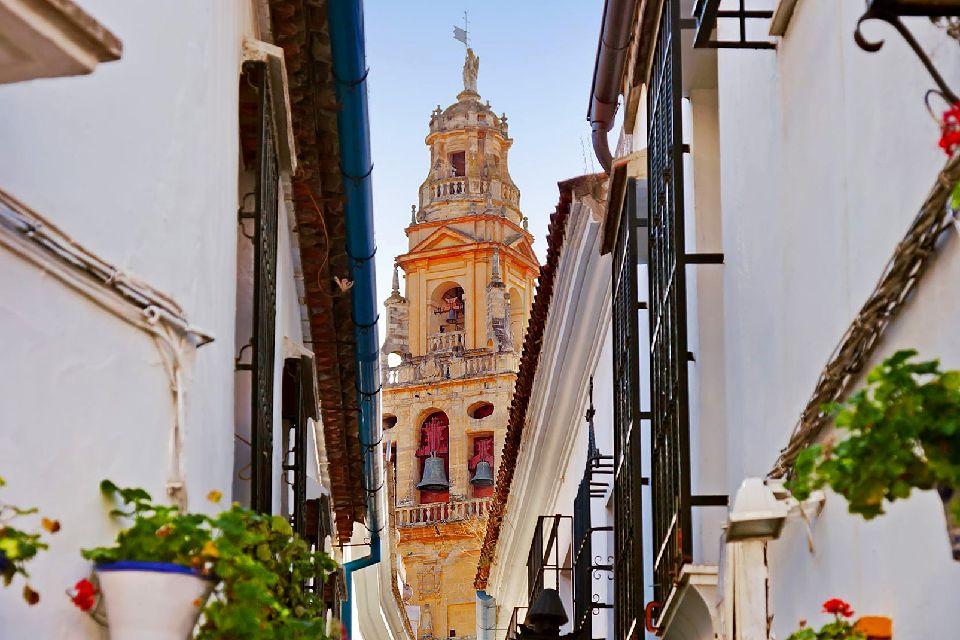La catedral de Córdoba , Fachada de la Catedral de Santa María , España