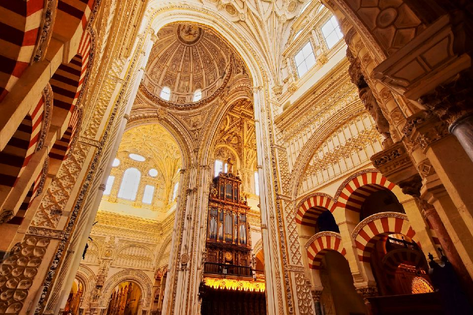 Cordoba Cathedral , The Mosque-Cathedral of Cordoba , Spain