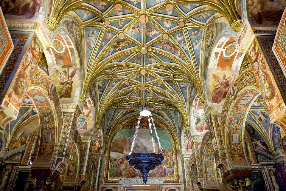 La cathédrale de Cordoue , Le plafond de la Cathédrale de Cordoue , Espagne