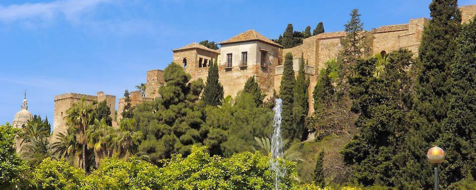 The Alcazaba of Malaga - Andalusia - Spain