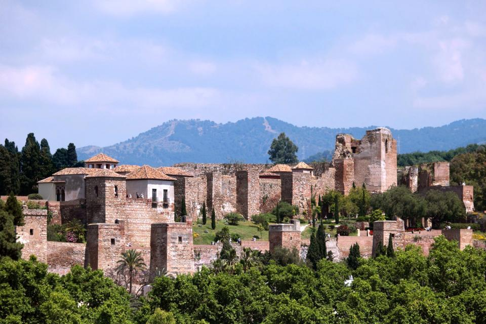 The Alcazaba of Malaga - Andalusia - Spain