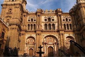 La Cattedrale di Malaga , Spagna