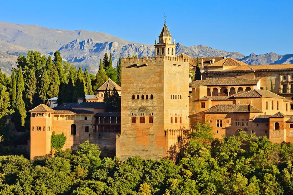 The Alhambra of Granada , Heritage from the presence of the Muslims , Spain