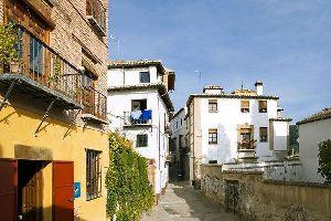 Il quartiere di Albayzín , Spagna