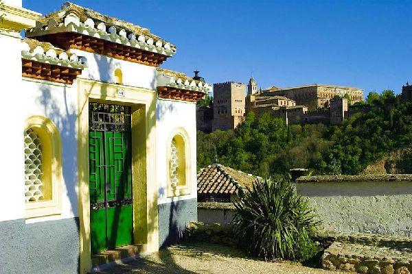 Quartier d'Albayzín , Espagne