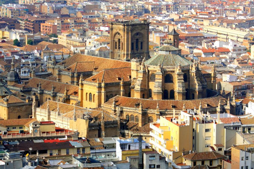 La cathédrale de Grenade , Espagne