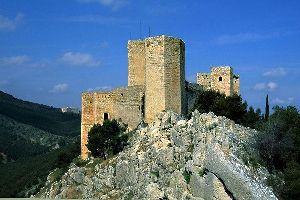 Le château de Santa Catalina , Espagne