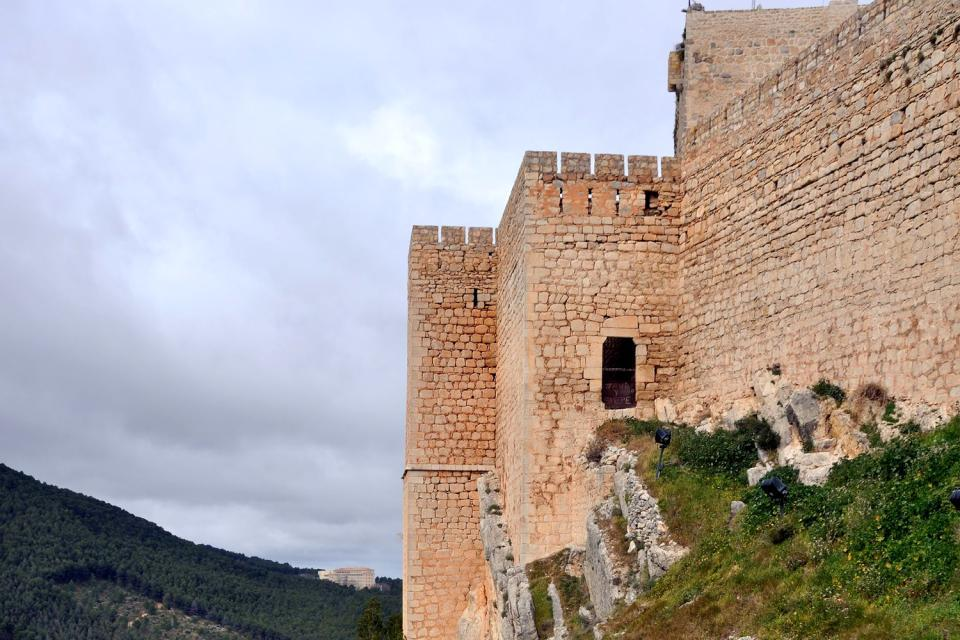 Santa Catalina Castle , Spain