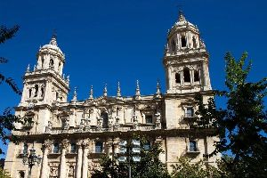 La cathédrale de Jaén , Espagne
