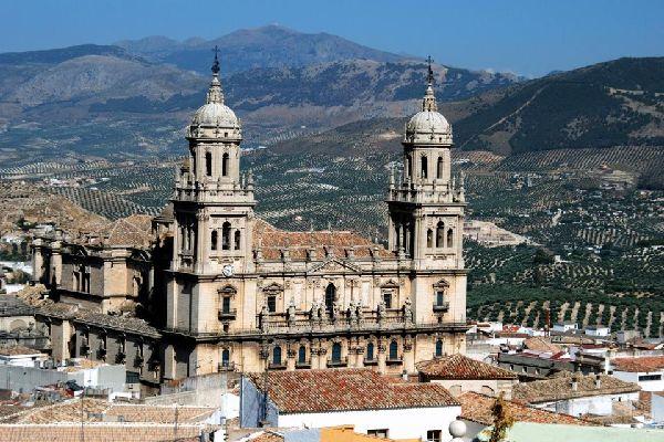 La catedral de Jaén , España