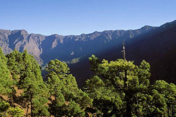 La Palma , La Caldera de Taburiente , Espagne