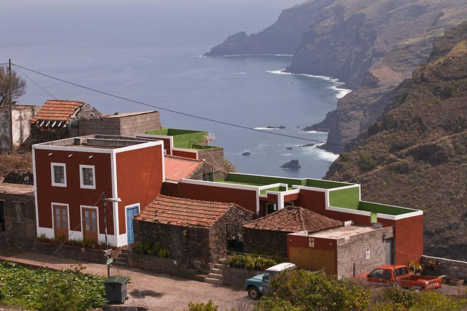 La Palma , El paisaje protegido de El Tablado , El municipio de Garafía , España