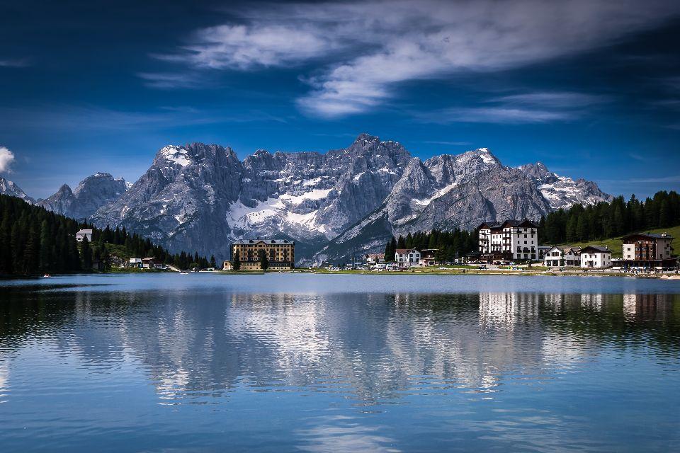 Les montagnes , Les montagnes de Vénétie , Italie