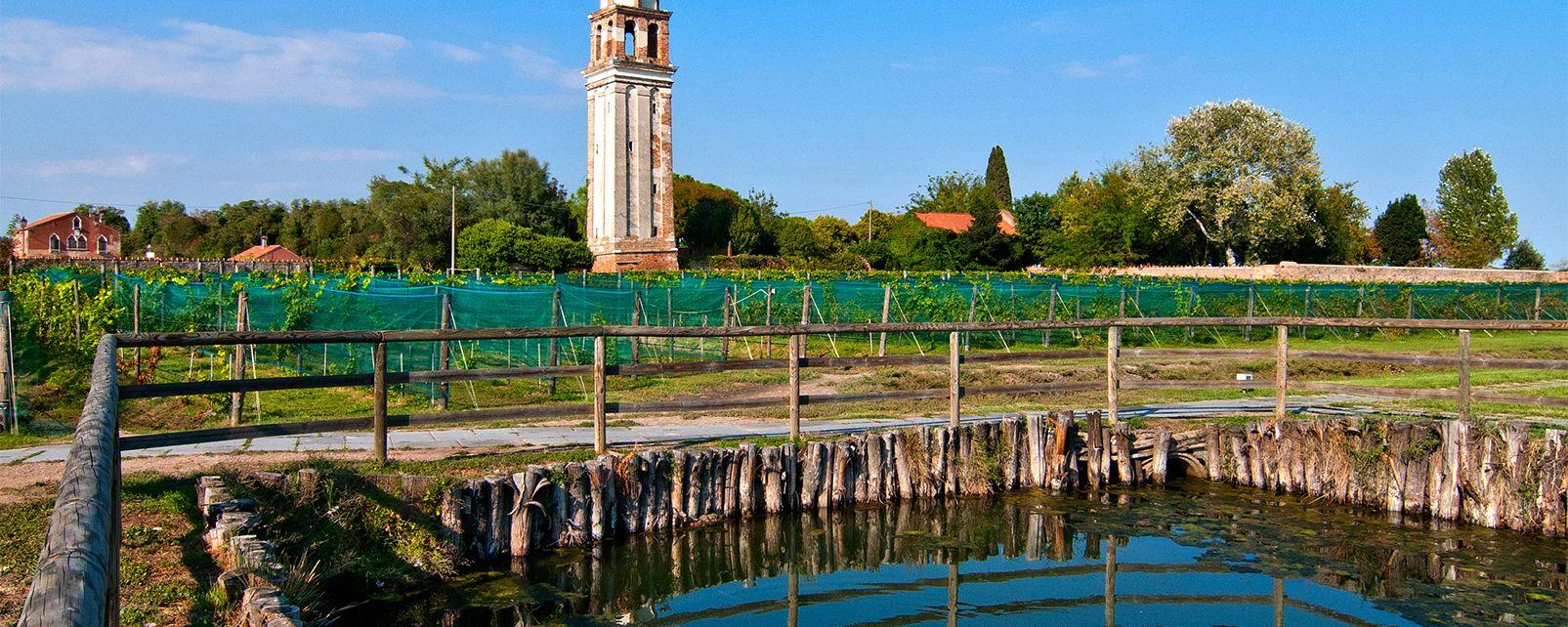 La campagne et les villas , La lagune de Venise , Italie
