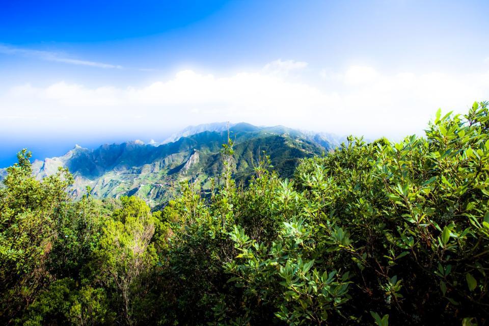 Teneriffa , Der Landpark von Anaga , Das Anaga-Bergmassiv , Spanien