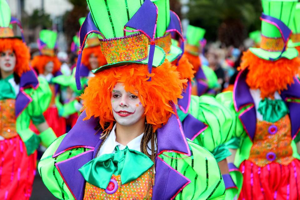 Carnivals , The carnival queen , Spain