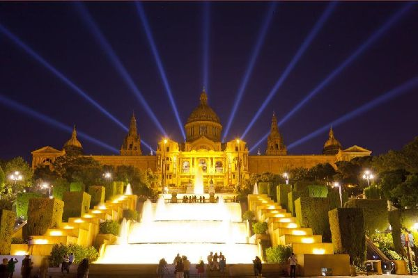 The National Art Museum of Catalonia (Barcelona) , Spain