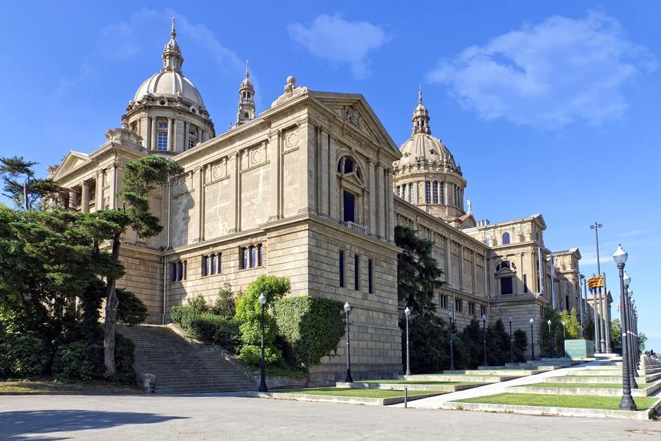 Le Musée national d'Art de Catalogne (Barcelone) , Espagne