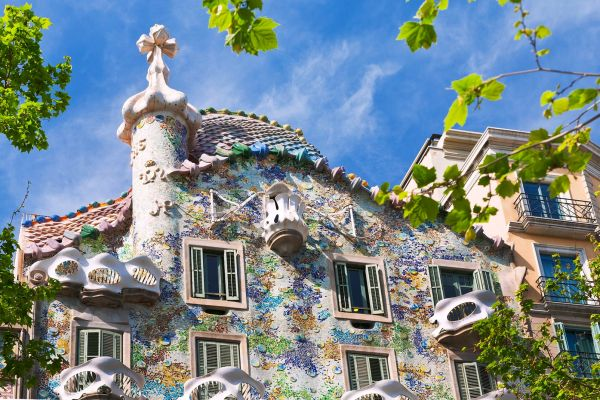 The Casa Batllo , Spain