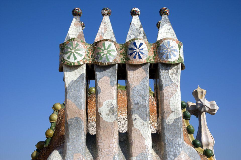 La Casa Batlló , Les cheminées de la Casa Batllo , Espagne