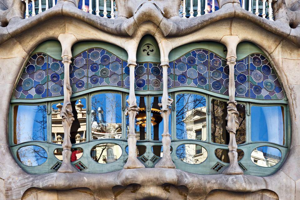 La Casa Batlló , Le style moderniste , Espagne