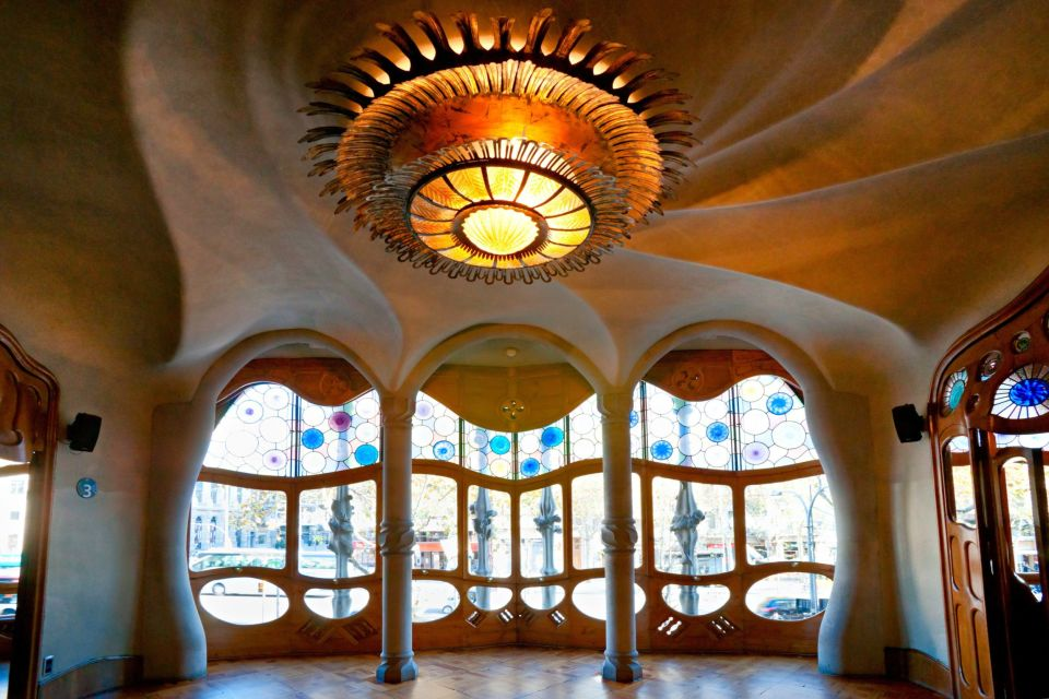 La Casa Batlló , Le style expressionniste , Espagne