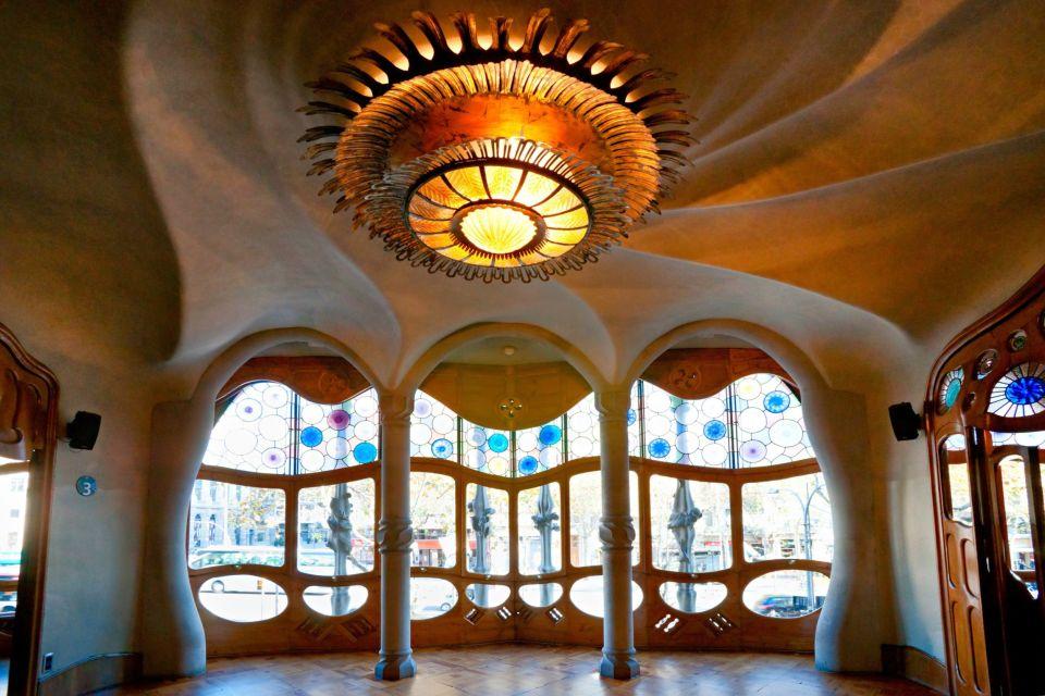 La Casa Batlló , Lo stile espressionista , Spagna