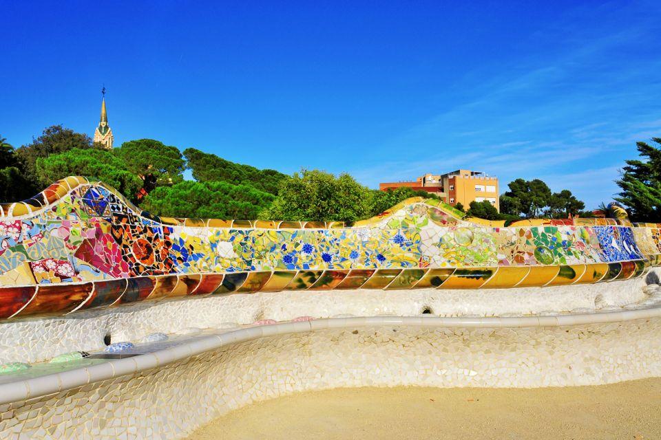Les monuments, guell, parc, barcelone, gaudi, art, espagne, europe, catalogne, monument.