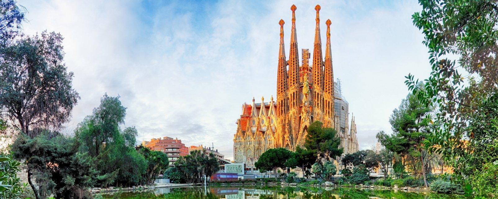 Templo de la Sagrada Familia, Los monumentos, Barcelona, Cataluña