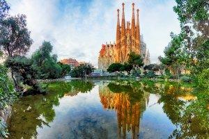 Temple de la Sagrada Familia , Espagne