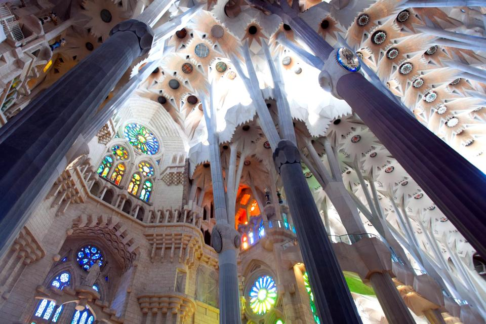 The Sagrada Família , Spain