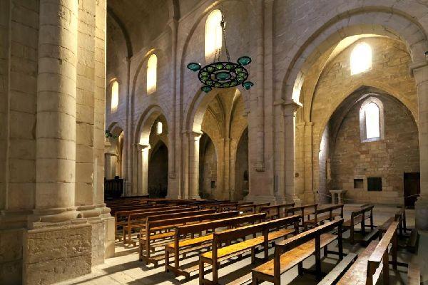Le monastère de Poblet , Espagne