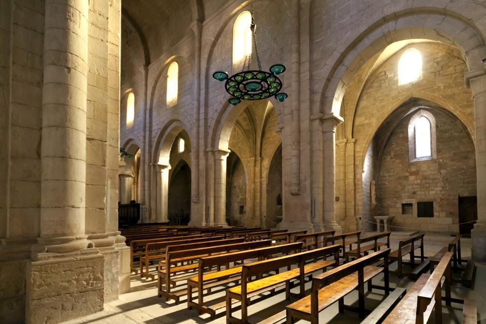 El monasterio de Poblet , España