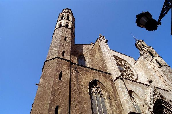 La basilique de Santa Maria del Mar , Espagne