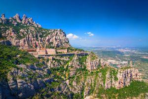 Le monastère de Montserrat , Espagne