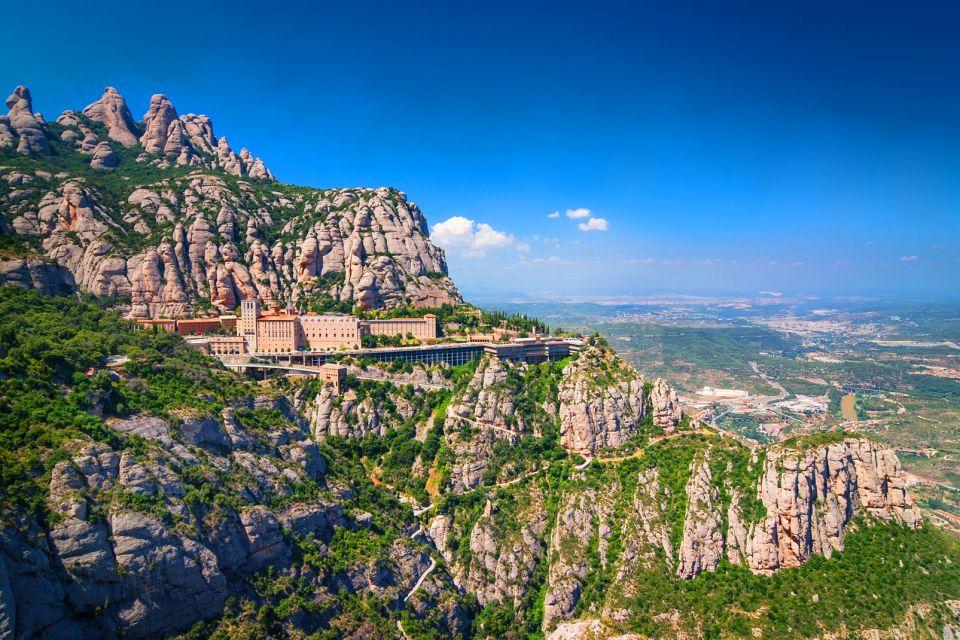 The Montserrat Monastery , Montserrat monastery , Spain