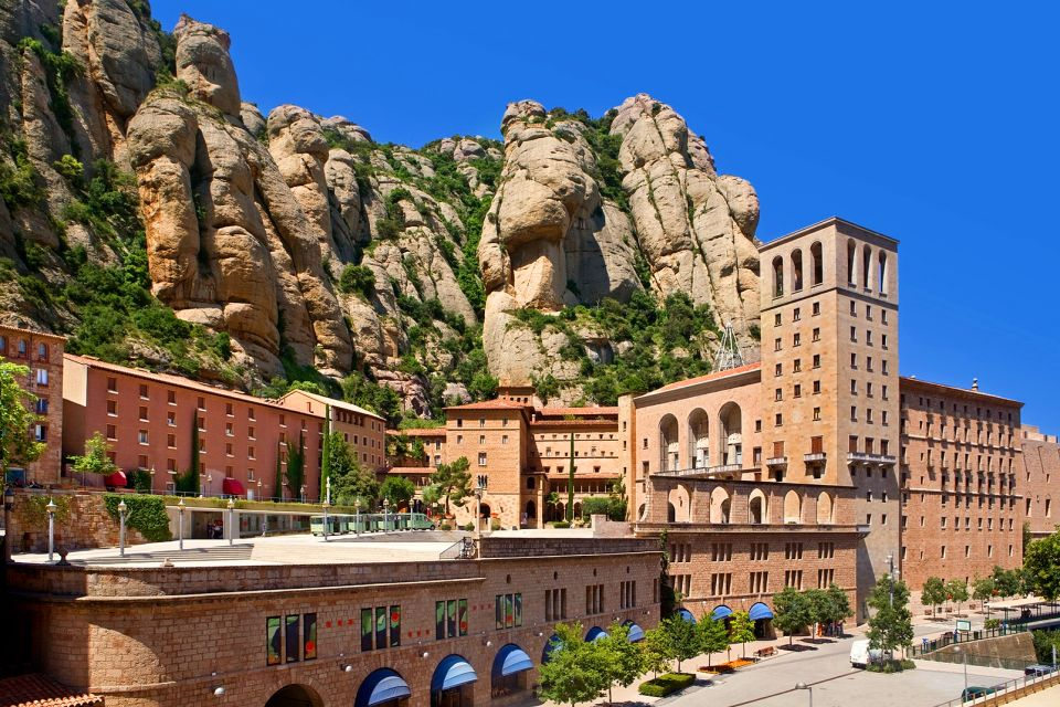 The Montserrat Monastery , Spain