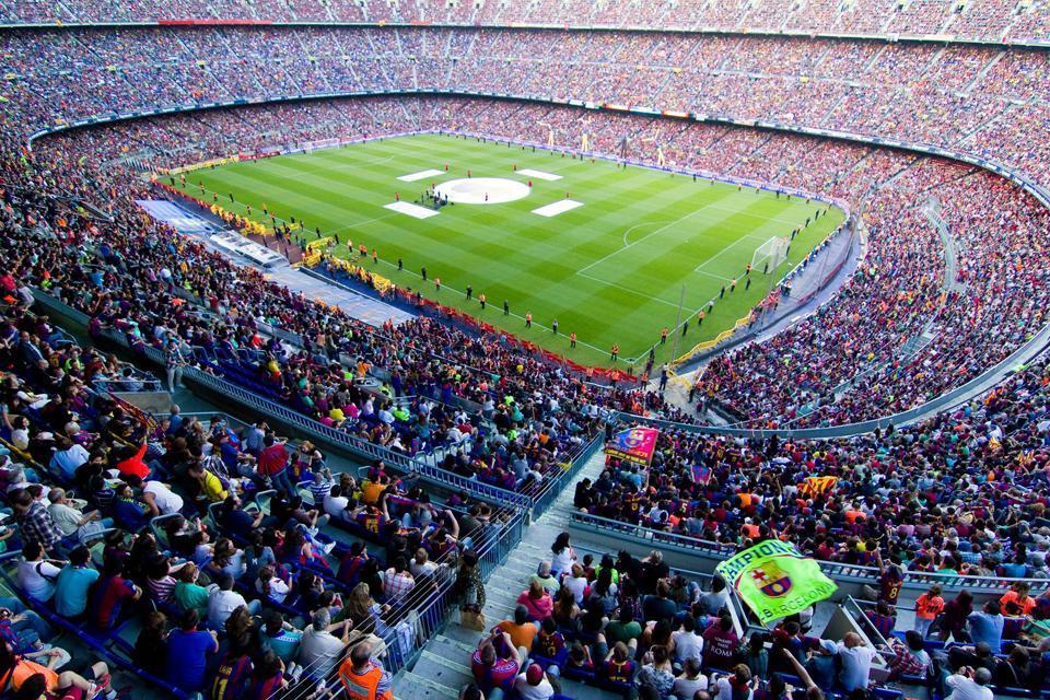 Il Camp Nou , Camp Nou , Spagna