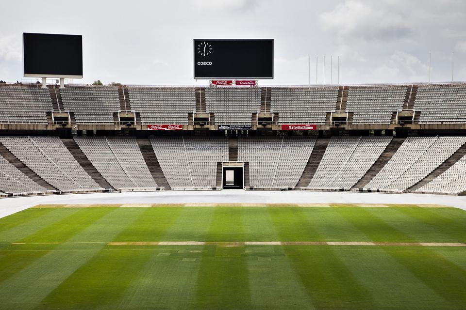 Le Camp Nou , Espagne